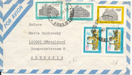 Argentina Air Mail Cover With More Stamps Sent To Germany 11-3-1982 - Luftpost