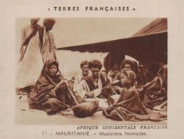 CHROMO TERRES FRANCAISES @ MAURITANIE MUSICIENS @ - Mauritania
