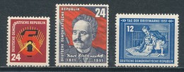 DDR 293 - 295 ** Mi. 18,- - Unused Stamps