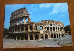 ROMA Colosseo Cartolina Viaggiata 1986 - Colisée