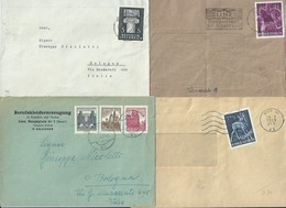 1961 And Others - 4 Various Postage Envelopes - 1961 E Altri, 4 Buste Affrancatura Varia - 1945-.... 2ème République