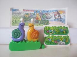 Kinder Surprise Deutch 1999/ 2000 : N° 649449 + BPZ + Stickers - Montables