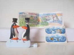 Kinder Surprise Deutch 1999/ 2000 : N° 649384 + BPZ + Stickers - Montables