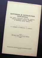 Lithuanian Book / Metodiniai Ir Instrukciniai Nurodymai 1941 - Cultural