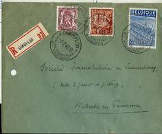 Doc. De CHAMPLON Touristique Du 03/02/49  En Rec. - Postmark Collection