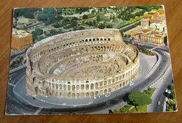 ROMA Colosseo  Cartolina 1971 Viaggiata - Colisée