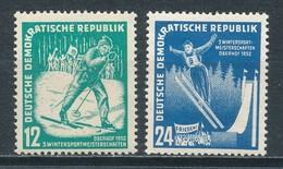 DDR 298/99 ** Mi. 14,- - Unused Stamps