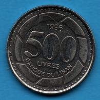 LIBAN LEBANON 500 LIVRES 1996 KM# 39 - Lebanon