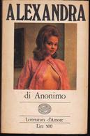 Alexandra, Autore Anonimo, Soged 1973, Eros - Novelle, Racconti
