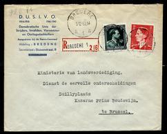 Doc. De BREDENE - A 1 A - Du 05/12/53 En Rec. - Rural Post