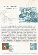 DOCUMENT 1978 PARC NATIONAL DE PORT CROS VAR - Documents De La Poste
