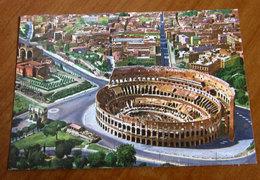 ROMA Colosseo  Cartolina 1988 Viaggiata - Colisée