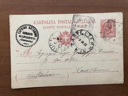 RIPOSTO (CATANIA) FARMACISTA CAPRINO ANTONINO  1908 - Catania