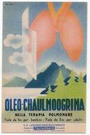 MEDICINE - ADVERTISING / PUBLICITE' OLEO-CHAULMOOGRINA - ITALFARMACO - Salute