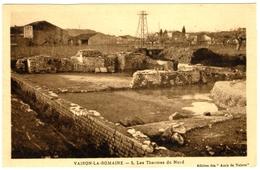 CPA DE VAISON-LA-ROMAINE  (VAUCLUSE)   LES THERMES DU NORD - Vaison La Romaine