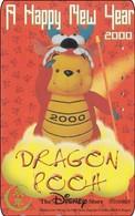 Japan NTT Free Phonecard Disney Winnie The Pooh 110-209487 - Disney