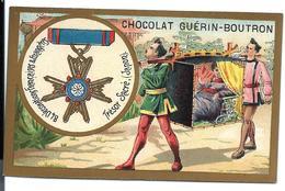 CHROMO ANCIEN  - Médaille Du TRÉSOR SACRÉ - Publicité GUÉRIN-BOUTRON - Autres