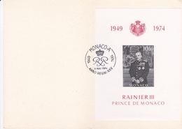 Monaco - 1974 - Bloc Feuillet N° 8 YT - Gebraucht
