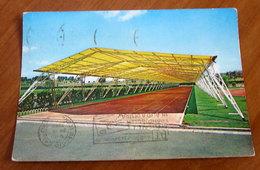 ROMA Pista Olimpionica Coperta  Cartolina  1962 Viaggiata - Stades & Structures Sportives