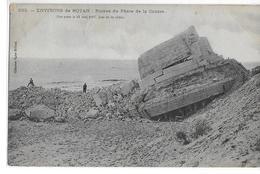 """CPA 17 ROYAN  :  Ruines Du Phare De La Coubre  1907    Collection """"V.Billaud"""" - Royan"""
