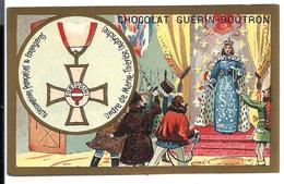 CHROMO ANCIEN  - Médaille Ordre De MARIE-THÉRESE ( AUTRICHE ) - Publicité GUÉRIN-BOUTRON - Autres