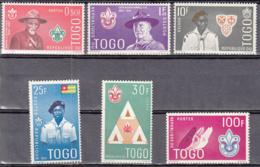 Togo 334 à 339 ** - Togo (1960-...)