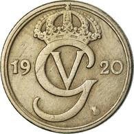 Monnaie, Suède, Gustaf V, 10 Öre, 1920, TTB, Nickel-Bronze, KM:795 - Sweden