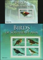 PALAU 2007 Birds Of Southeast Asia Animals Fauna MNH - Other