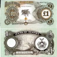 BIAFRA (NIGERIA) 1 Pound ND (1969) P 5 UNC - Nigeria