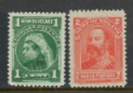 Newfoundland 1897-1901  MH - 1952-.... Règne D'Elizabeth II
