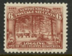 Newfoundland 1897 MH - 1952-.... Règne D'Elizabeth II