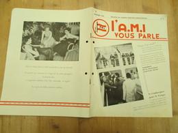 Agence Maritime Internationale Congo Belge 1954 - Publicités