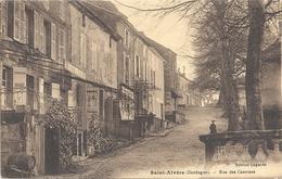 CPA Saint-Alvère Rue Des Casernes - Francia