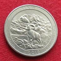 United States Quarter 1/4 Dollar 2012 D Denali America USA Estados Unidos $ - Other