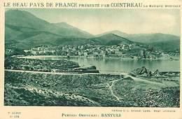 - Dpts Div -ref-AR927- Pyrenées Orientales - Banyuls Sur Mer - Vue Generale - Publicité Souple Cointreau - - Banyuls Sur Mer