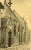 "CP De LOUVAIN ( Leuven ) "" Justus Lipsius College / Collège Juste Lipse "" Ingang En Builengevel / Entrée - Leuven"