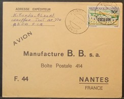 Congo - Cover To France 1967 Lycée Savorgnan 30F Solo - FDC