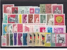 DDR, Lot Aus Dem Jahr 1959** (T 9001) - Unused Stamps