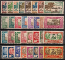 Wallis Et Futuna - 1930-38 - N°Yv. 43 à 65 - Série Complète - Neuf Luxe ** / MNH / Postfrisch - Ungebraucht