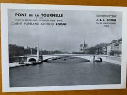1 BUVARD PONT DE LA TOURNELLE - Blotters