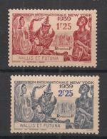 Wallis Et Futuna - 1939 - N°Yv. 70 à 71 - Exposition New York - Neuf Luxe ** / MNH / Postfrisch - Ungebraucht