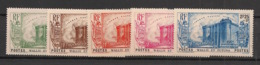 Wallis Et Futuna - 1939 - N°Yv. 72 à 76 - Révolution - Série Complète - Neuf Luxe ** / MNH / Postfrisch - Wallis Und Futuna