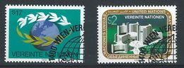SS-/-519-  N° 73/74, Obl., Cote 3.30 €, Voir IMAGE Pour Detail , - Centre International De Vienne