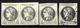 621 - FRANCE - 1875 - CERES - EMISSION PROVINCES - FORGERIES, FALSES, FAKES, FAUX,, FALSCHEN - Briefmarken