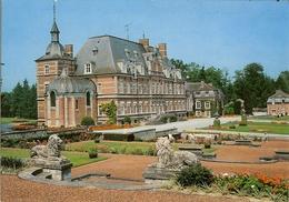 "CP De LAMONTZEE "" Le Château  "" - Burdinne"