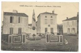 17-CIRE-Monument Aux Morts... - France