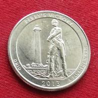 "United States Quarter 1/4 Dollar 2013 P Perry""s Victory  America USA Estados Unidos $ - Other"