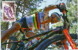 ANDORRA. Le Cyclisme En Andorre,  Carte-Maximum - Cyclisme