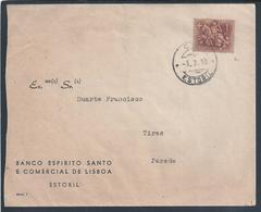 Estoril. Tires. Parede. Carta Circulada Do Bescl Estoril 1965. Stamp Cavalo. - 1910-... République