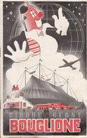 Le Cirque Bouglione : Programme Saison 1957 ( Trace Plis)   ///    Mai . 20 ///  Ref.  11343 - Cirque